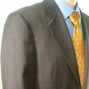 Hickey Freeman Bespoke Loro Piana Men's 40R Blazer